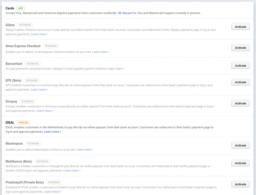 Stripe payment gateway | mooCommunity - Social Networking Script